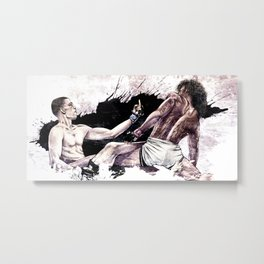 Nate Diaz vs. Benson Henderson Metal Print