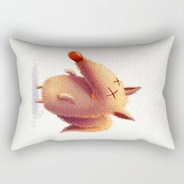 Monday fox Rectangular Pillow
