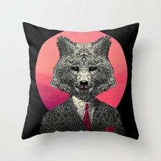 VIF - Very Important Fox Throw Pillow