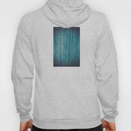 Old piece of wood painted blue and worn by the passage of time Hoody