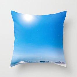 Heaven at night Throw Pillow