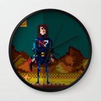 8bit Wall Clocks featuring 8bit sequal? by pixel.pwn | AK