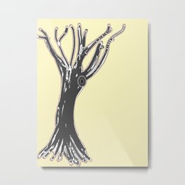 unblinking tree Metal Print