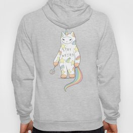 Stay Weird! With Love From Unicorn Cat Hoody