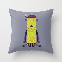 Fourtopster Throw Pillow