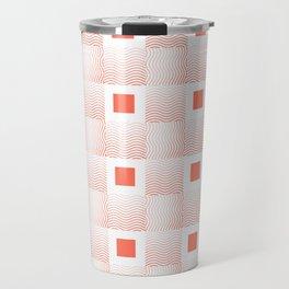 Rachel's Wavy Coral Pattern Travel Mug