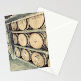 Kentucky Bourbon Barrels Color Photo Stationery Cards