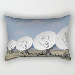 Very Large Array Rectangular Pillow