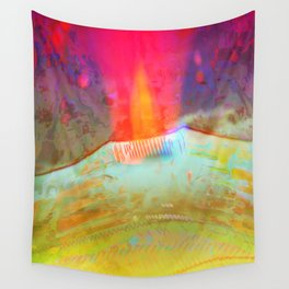 Volcanic Eruption II Wall Tapestry