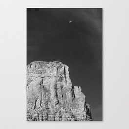 Two Rocks in Space Canvas Print