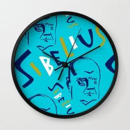 Jean Sibelius (3) Wall Clock