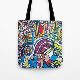 Study For A Face Tote Bag