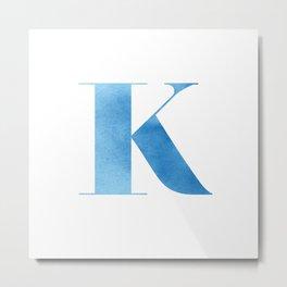 ABC Series - K  Metal Print