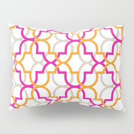 Moroccan Trellis Overlaps Pillow Sham