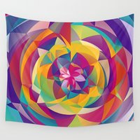 acid Wall Tapestries featuring Acid Blossom by Eleaxart