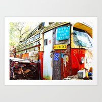 the office Art Prints featuring Office by hannahhart
