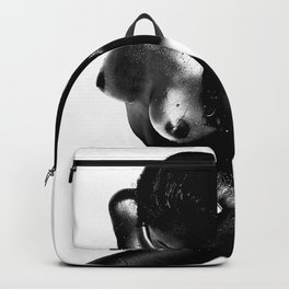 Milk Bath - Black and White Backpack