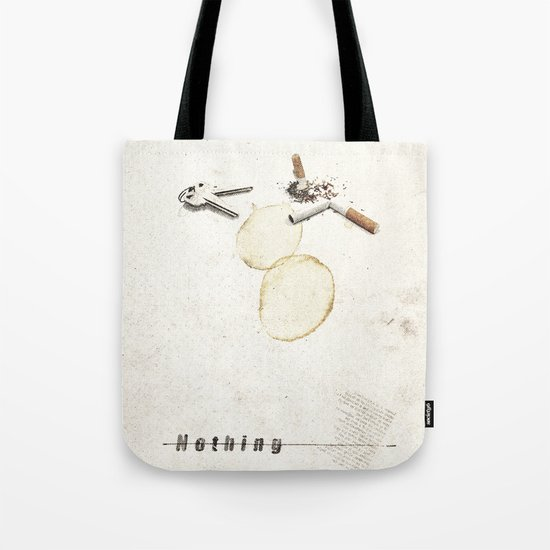 Nothing (...) | Collage Tote Bag