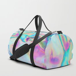 Iridescence - Rainbow Abstract Duffle Bag