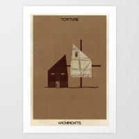 04_Torture_ARCHIRIGHTS-01 Art Print