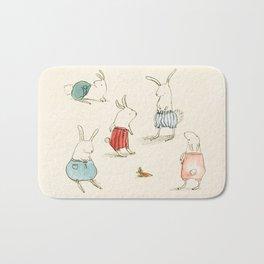 If Rabbits Wore Pants Bath Mat