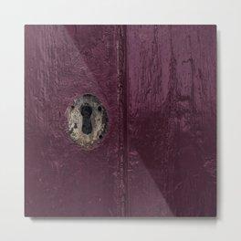 keyhole Metal Print