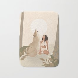 Spirit Animal – Wolf Bath Mat