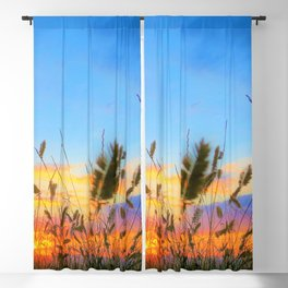 Farm Fields Blackout Curtain
