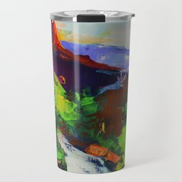 ZION - The Watchman and the Virgin River Travel Mug