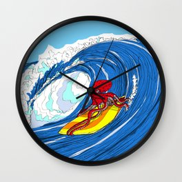 octosurfer Wall Clock