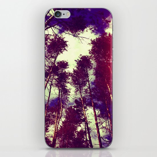 There is a pleasure in the pathless woods... iPhone & iPod Skin