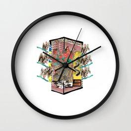 Winter Strawberry Soft House // BBQ Blanket Wall Clock