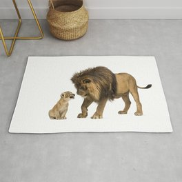 Dad and son Rug