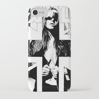 the fault iPhone & iPod Cases featuring FAULT by Kelsey Crenshaw