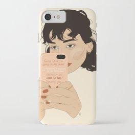Ignoring you... iPhone Case