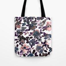 Sophia Floral Dusty Pink Tote Bag