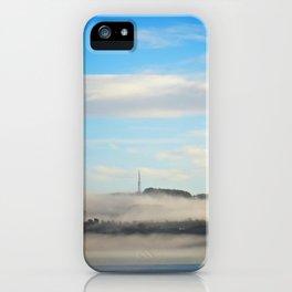 Fog rolling in... iPhone Case