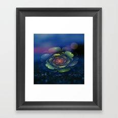 A Beautiful Fractal Flower 2 Framed Art Print