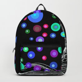 night sky lights Backpack