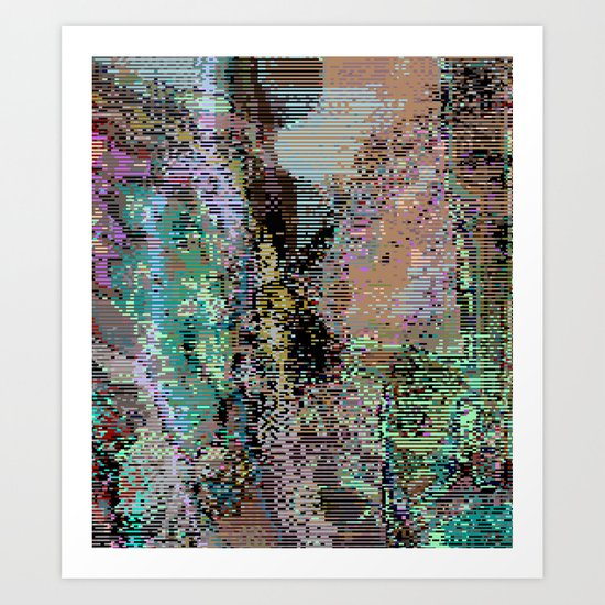 bad frame_1 Art Print