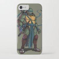 leonardo iPhone & iPod Cases featuring Leonardo by Teratophile