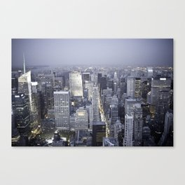 NYC from Empire State Building Canvas Print