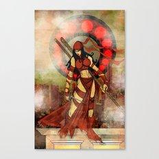 Elektra red..... Canvas Print