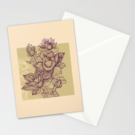Lotus flower colors Stationery Cards