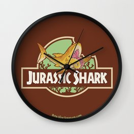 Jurassic Shark - Helicorprion shark Wall Clock