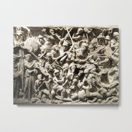 Roman Battle Metal Print