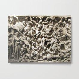 Roman Battle Metal Print