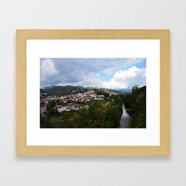 Laino Borgo Framed Art Print