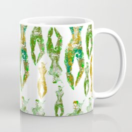 Boddies of fibre pattern Coffee Mug