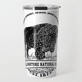 Yellowstone Emblem Travel Mug
